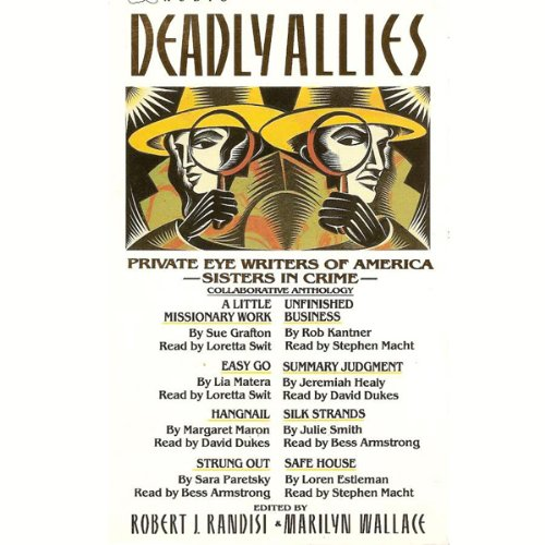 Deadly Allies audiobook cover art