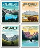 National Parks Vintage Poster & Drucke, Wandkunst,