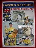 Chris Froome 2017 Tour de Francia Ganador – Impresión de recuerdo