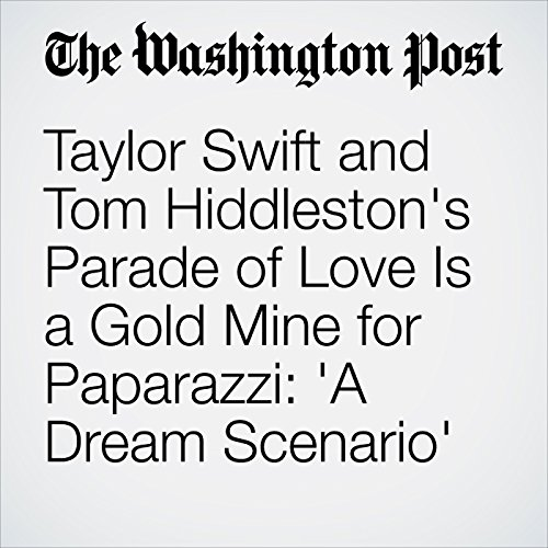 Taylor Swift and Tom Hiddleston's Parade of Love Is a Gold Mine for Paparazzi: 'A Dream Scenario' audiobook cover art