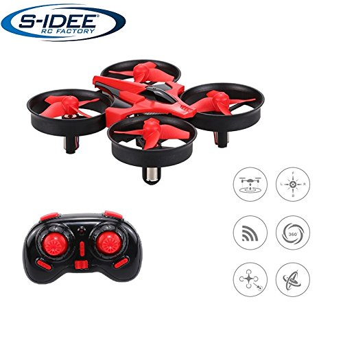 s-idee® 17101 S010 Quadrocopter mit Höhenstabilisierung, Headlessmode, OKR, Flipfunktion u.v.m. 4 Kanal!