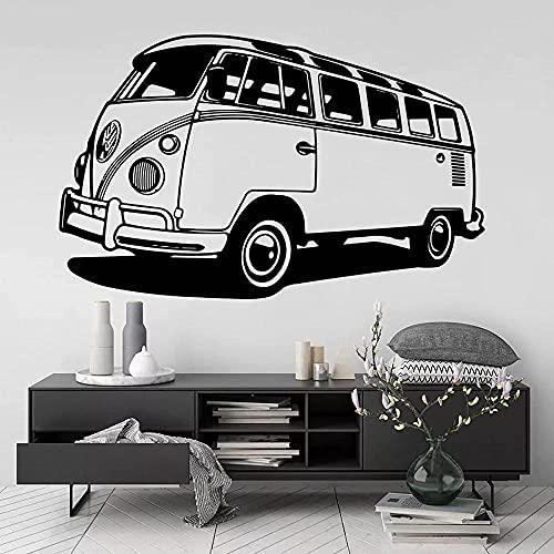 Pegatinas de pared para caravana, estilo de autobús de viaje, pegatinas de vinilo para pared, calcomanías para caravana, decoración de habitación para el hogar, póster, Mural 89x56cm