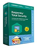Kaspersky Lab Total Security 2018 3licencia(s) 1año(s) Full license Español - Seguridad y antivirus (3, 1 año(s), Full license, Descarga)