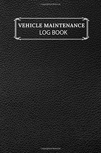 Vehicle Maintenance Log Book: Auto Repairs & Record Book File Folder for Cars, Trucks Plus Motorcycles/Checklist Expense Log/Track Notes ... Plugs.100 Pages Small Pocket
