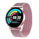 Montre Connectée GOKOO Smartwatch Femme Homme Montre Sport Bracelet Connecté Étanche Montre Intelligente Podomètre Calorie...