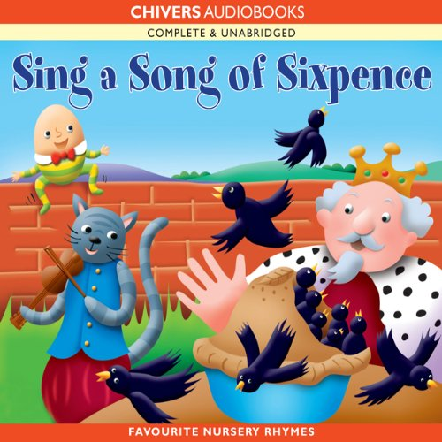 Sing a Song of Sixpence audiobook cover art