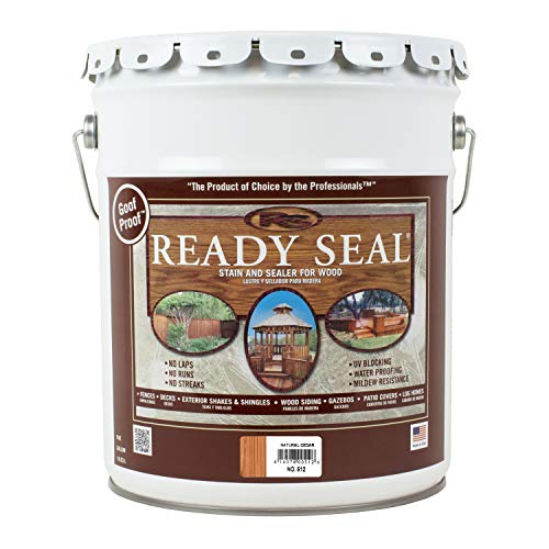 Ready Seal 512 5-Gallon Pail Natural Cedar Exterior...