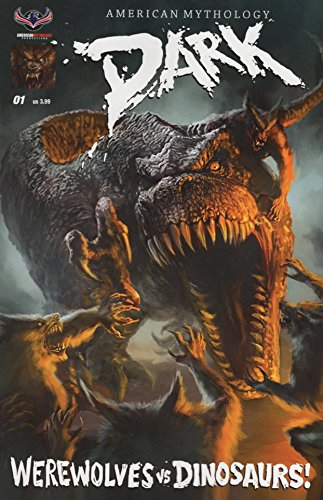 AM Dark Werewolves Vs Dinosaurs #1 Main Cover