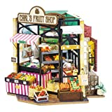 Rolife Kit de bricolaje en miniatura para adultos y adolescentes para ensamblar habitación Modelo de casa de muñecas artesanal regalo para adultos - Carl's Fruit Shop