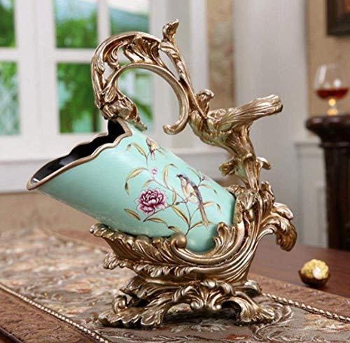 BINGFANG-W Decoración Decoraciones del Arte del Arte del Estante del Vino de Regalo Living Vino Sala de Ping gabinete decoración de Mesa de Comedor 3 estatuas