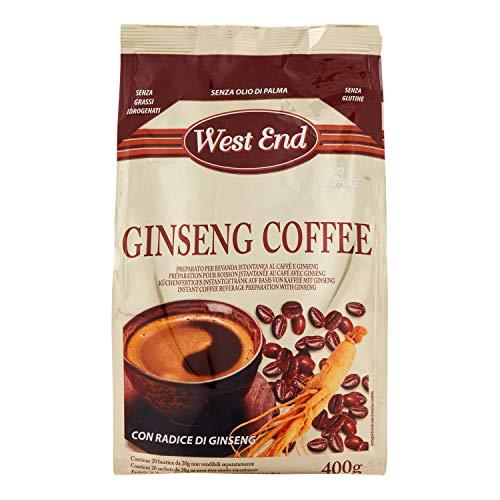 West End Caffè al Ginseng Solubile 20 Bustine, 400g