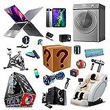 RTEY Elektronische Überraschungsbox, Mystery Box, zufällige Glücksboxen, Mystery Item vieler Stile, wie die neuesten Handys, Spielkonsolen B