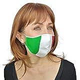 Tollío #andratuttobene Maske, italienische Flagge, dreifarbig, waschbar, wiederverwendbar, 2...