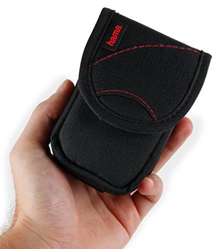 DURAGADGET Housse étui Noir/Orange pour Appareil Photo Moshi Monsters Camera & Pocket Size numérique Compact, Couleur Noir/Orange - Garantie 2 Ans