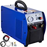 VEVOR Air Plasma Cutter, Plasma Cutter, Dual Voltage 110V-220V, 70A, Cut-70, Non Touch Pilot Arc, Inverter Cutter, Welding Machine, Air Welder, Cutting Machine