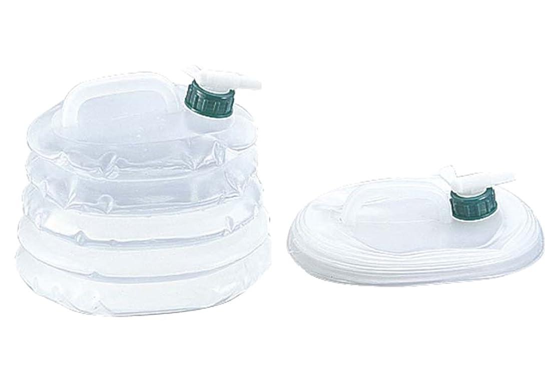 一緒寝室を掃除する側溝キャプテンスタッグ(CAPTAIN STAG) ポリタンク ウォータータンク ウォータージャグ 抗菌 伸縮ウォータージャグ
