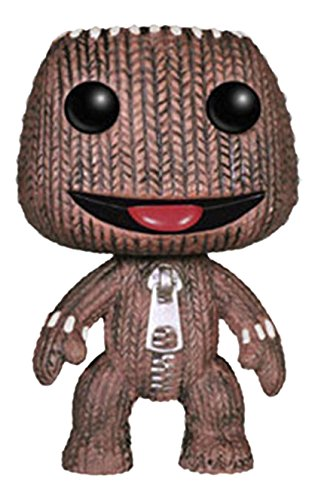 """Your favorite video game characters get the Funko POP Vinyl Figure treatment! This Sack Boy POP features the protagonist of Little Big Planet game series in the fun 3 3/4"""" stylized POP form."""