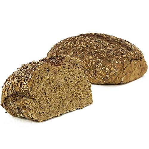 Vestakorn Handwerksbrot, Vitalschrot 750g - frisches Brot – Natursauerteig, selbst aufbacken in 10 Minuten