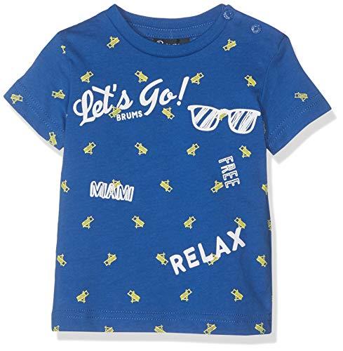 Brums Baby-Jungen T-Shirt Jersey Con Stampa Pullunder, Blau (Royal 04 263), 56 (Herstellergröße: 3M)