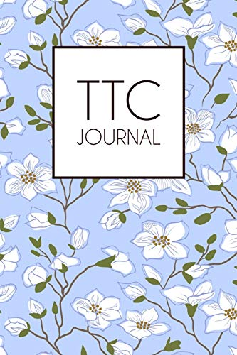 TTC journal: Lined notebook for documenting your TTC journey