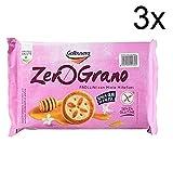 3x Galbusera zero grano Kekse mit Blütenhonig ohne Glutenfrei 240g kuchen