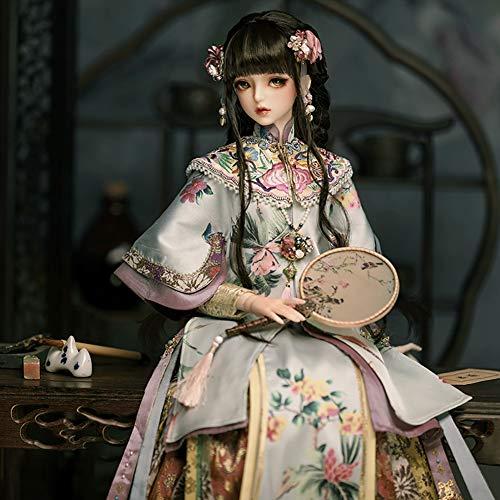 Clicked 1/3 Bjd SD Puppe Haar Chinesische Antike Perücke Für Puppe DIY Liefert
