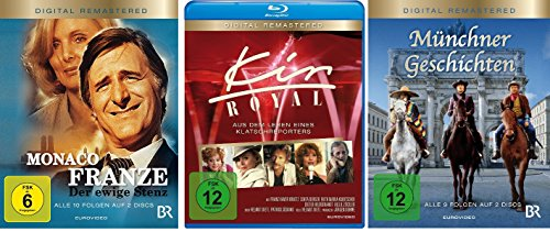 Helmut Dietl Set - Monaco Franze, Kir Royal, Münchner Geschichten [Blu-ray]