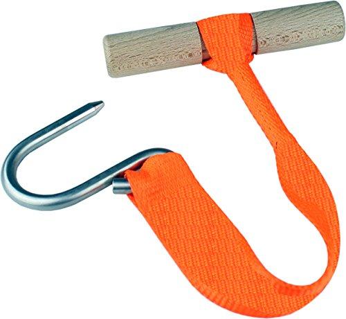 EUROHUNT Wilbergehilfe - Accesorio para Limpieza de presas de Caza, Color Naranja
