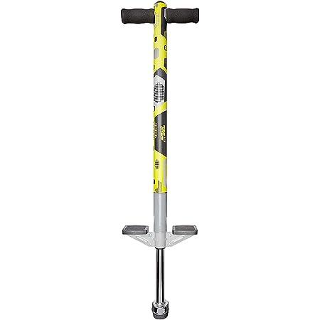 Think Gizmos Pogo Stick - Aero Advantage - per Bambini di 5,6,7,8,9,10 Anni o Fino a 36kg di Peso - qualità Eccezionale - Divertimento all'Aria Aperta Pogo Stick per Ragazzi e Ragazze (Giallo e Nero)