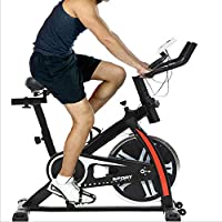 FDW Indoor Exercise Bike with LCD Display
