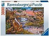 Ravensburger El reino animal Puzzle 3000 Pz, Puzzle para adultos