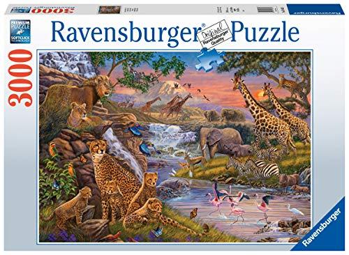 Ravensburger Puzzle Il Regno Animale Puzzle 3000 pz Illustrazioni, Puzzle per Adulti