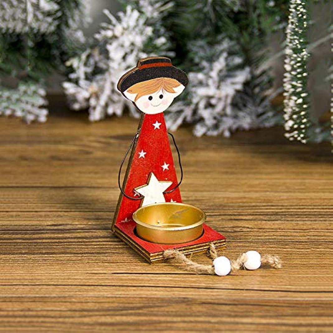 スタンドチラチラする待つACHICOO 燭台 小さい 金属 クリスマス 天使の女の子の形 卓上の装飾 少年ローソク足