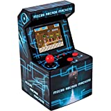 ITAL Mini Recreativa Arcade (Azul) / Mini Consola Portátil De Diseño Retro Con 250...