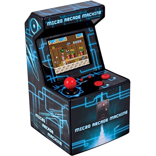 ITAL Mini Recreativa Arcade (Azul) / Mini Consola Portátil