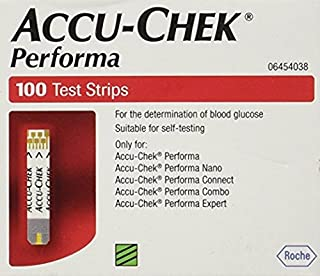 Rocheoper Ltd Accu Chek Performa (Without Chip) - 100 Strips by Accu Chek