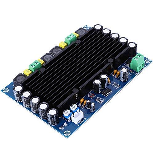 XH-M546 TPA3116D2 Placa de amplificador Placa de potenciómetro de alta potencia Módulo amplificador de 2 canales Amplificador de volumen Placa de potenciómetro digital de audio para altavoces de estan