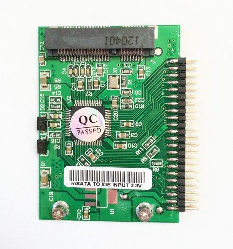 mSATA SSD→1.8インチIDE(3.3V) 44pin変換アダプター for IBM Thinkpad X40/X41など EnlargeCorp