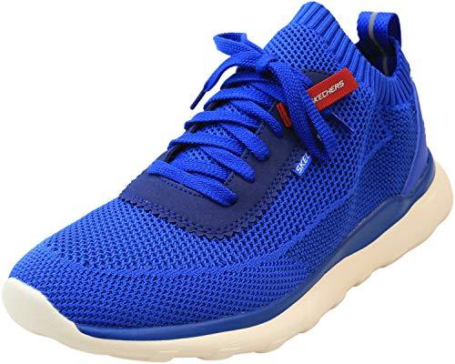 Skechers Men's USA Street Wear Bulger NICKSON Sneakers Men Blau, Schuhgröße:42 EU