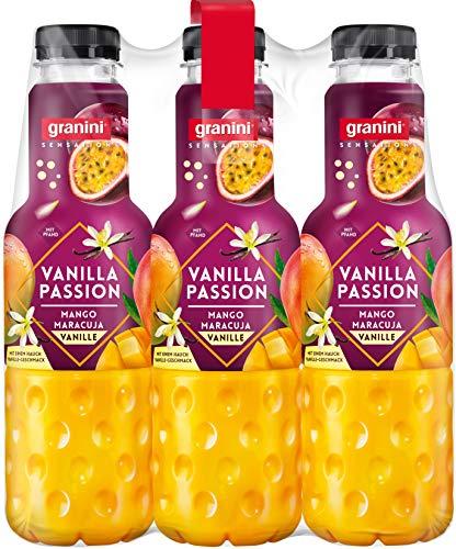 granini Sensation Vanilla Passion, 6er Pack, EINWEG (6 x 750 ml)