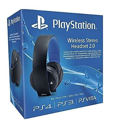 Sony PlayStation Wireless Stereo Headset 2.0 - Black (PS4/PS3/PS Vita) from Sony