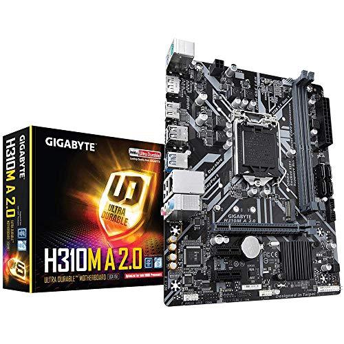 GIGABYTE H310M A 2.0 (LGA1151  Intel  H310  Micro ATX  DDR4  HDMI 1.4  M.2  Motherboard)
