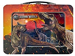 7. Jurassic Park XL Tin Lunchbox with Window