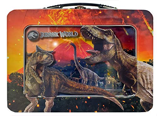 Jurassic Park XL Tin Lunchbox with Window