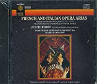 French & Italian Opera Arias