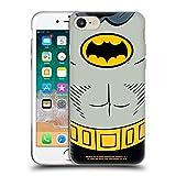 Head Case Designs sous Licence Officielle Batman TV Series Costume Logos Coque en Gel Doux Compatible avec Apple iPhone 7 / iPhone 8 / iPhone Se 2020