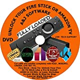 Unlock Your Fire TV & Fire stick .Like a pro This DVD will explain this process step by step as Jailbreak to amazon device, just Follow the steps in this DVD and you will be able to Unlock your device