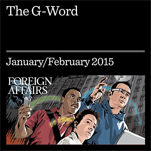 The G-Word audiobook cover art