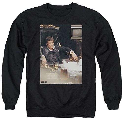 Unbekannt Scarface Herren Sweatshirt Gr. L, schwarz
