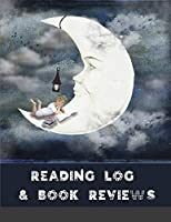 Reading Log & Book Reviews: my reading diary, track all your book reviews, logs & journal notebook, reading organizer favorite books